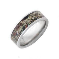 Get yourself a camo wedding ring! You can select the metal (Vitalium, Black Zirconium, or Titanium), the Mossy Oak or Realtree camo pattern, the width mm or 8 mm). Shown in 8 mm pipe cut in various Mossy Oak patterns. Camo Wedding Bands, Wedding Rings, Camo Rings, Mossy Oak Camo, Duck Blind, Realtree Camo, Camo Patterns, Thing 1, White Gold