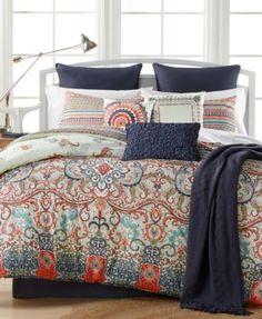 Sorrel Reversible 10-Pc. Queen Comforter Set