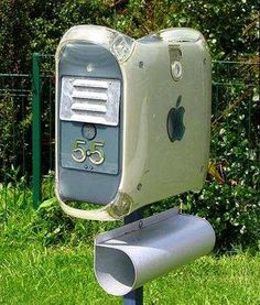 "computer mailbox - Computadora Apple ""reciclada"""