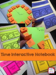A time interactive notebook that contains 12 differentiated activities for students in grades 2 and 3 including telling time to the hour, half hour, quarter hour, 5 minute, elapsed time and word problems!