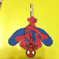 Mini Hama Beads Spiderman