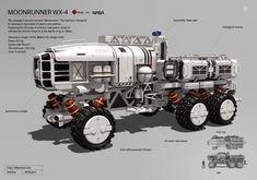 "Concept ""Moonrunner'', Denis Melnychenko on ArtStation at https://www.artstation.com/artwork/concept-moonrunner"