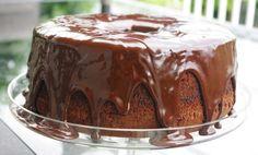 Torta Chiffon con ganache de chocolate