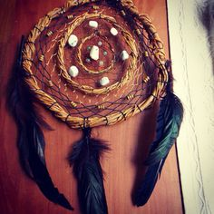 Huge Triple Dream Catcher by Gratefully Dreaming on Etsy
