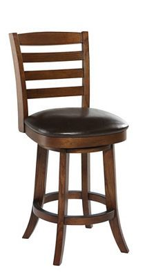 #LGLimitlessDesign #Contest - This bar stool will work great at the bar.  Really brings the LG Black Stainless appliances together with the granite countertops.  Havertys - Larson Stool