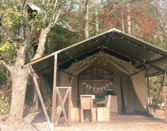 #safari #tent #camp #glamp #outdoorliving #tiny #gatlinburg #tennessee #vacation #travel #bucketlist
