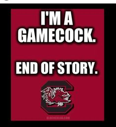 Gamecocks ❤ Forever to Thee! Carolina Gamecocks Football, Gamecock Nation, Go Gamecocks, Clemson, Carolina Panthers, College Football Teams, University Of South Carolina, New England Patriots, Sayings