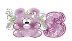 Alfabeto cosita linda en violeta.   Oh my Alfabetos!