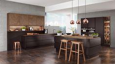 nobilia Küchen - nobilia | Produkte | Dunkle Farben