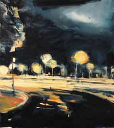 "Saatchi Art Artist Robert Bubel; Painting, ""'Nights are short, days are long and life escapes'"" #art"