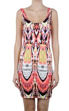 Dr Sing tribal print dress JORANDO