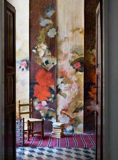 Elena Carozzi and The Art ofWallpaper