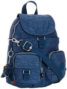 Kipling Firefly N - Bolso mochila, color Mineral Blue, talla 22X31X14 Cm (B X H X T): Amazon.es: Equipaje