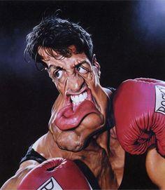 Sylvester Stalone, as Rocky