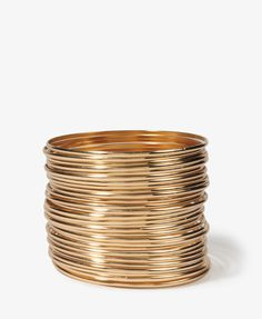 my signature style: a trillion bangles stacked up all the way up my forearm