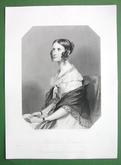 Queen Victoria Court Beauty Lady Louisa Fortescue