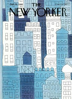 The New Yorker Cover - January 1980 Regular Giclee Print di John Norment su AllPosters. The New Yorker, New Yorker Covers, Spring Landscape, Beach Landscape, Capas New Yorker, Magazin Covers, New Yorker Cartoons, January 28, Winter Scenery