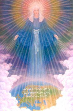 World Mother Mary (C) Peter Fich Christiansen (FichArt - Peter and Birgitte Fich Christiansen, Denmark: http://fichart.wix.com)