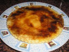 ¡Un postre al calor después de un plato al frío! - Receta Postre : Tarta de manzana al microondas, ¡¡ más manzana !! por Picapusa