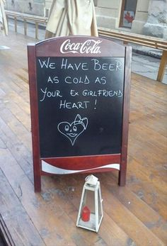 Funny Bar Signs. Now I'll Drink To That!