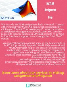 matlab assignment help get quick online solution of matlab we provide matlab assignment help via e mail you can either submit your matlab