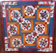 Love this setting from Bonnie Hunter.  It would work for so many blocks