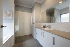 The-Hudson - Regent Homes Display Homes, Double Vanity, Bathroom Lighting, Mirror, Furniture, Home Decor, Bathroom Light Fittings, Bathroom Vanity Lighting, Decoration Home