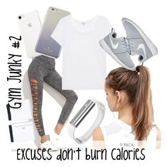 """Gym Junky #2"" by destinyvanmali on Polyvore featuring Kate Spade, Splendid, NIKE and STELLA McCARTNEY"