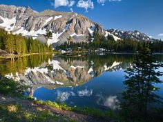 Alta Lake Rocky Mountains of Colorado :-) The Rocky Mountains John Denver used to sing about and where he penned most of his music <3