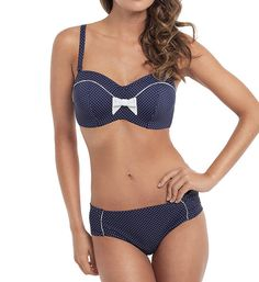 Panache Britt Balconnet Bikini Swim Top | 33 Bangin' Swimsuits For Girls With Big Boobs