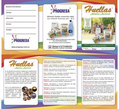Plegable a tres cuerpos Cliente: Progresa SAS Soft: Illustrator & Photoshop