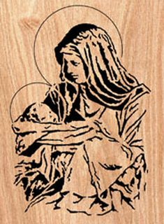 Mary & The Christ Child Project Pattern