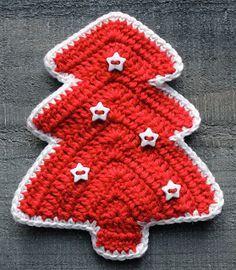 Hilde haakt: Kerstboompjes haken
