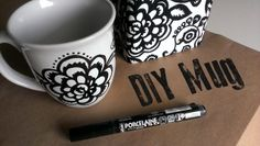 Miss Adventurenaut: DIY Mug Art