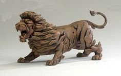 Lion from the Edge collection by Robert Harrop