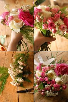Marriage DIY: le bouquet de marie.