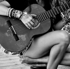 I want to be able to just take my guitar to the beach and play all day