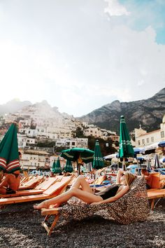 Positano. Although we went to rocky beaches like that in Nice and they are too hot/kind of hurt!