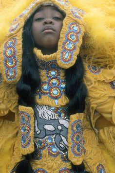 MARDI GRAS INDIANS by Christopher Porché West - A Studio On Desire on Flickr.