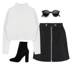 """""""Untitled #223"""" by lindsjayne ❤ liked on Polyvore featuring Topshop, Dion Lee and Retrò"""