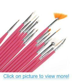 15pcs Acrylic Nail Art Design Painting Tool Pen Polish Brush Set Kit DIY Pro #15pcs #Acrylic #Nail #Art #Design #Painting #Tool #Pen #Polish #Brush #Set #Kit #DIY #Pro