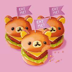 Rilakkuma hamburgers