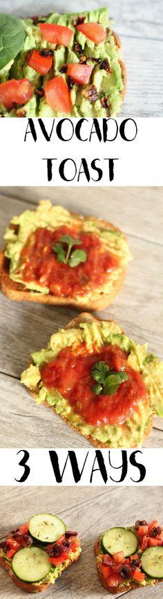 Avocado Toast -- 3 W