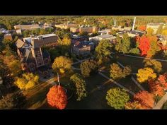 UNH Campus Aerials - YouTube