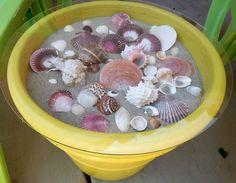 Seashell  Outdoor Table!