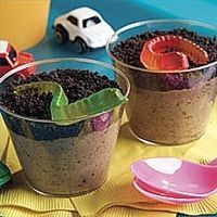Dirt cups.  Made these once as a kid and they were so good I still haven't forgotten!