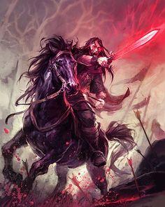 Ярость Огонь Меч Всадники Битва