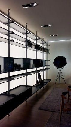 Giuseppe Bavuso | Rimadesio | Zenit Walk-in-Closet System