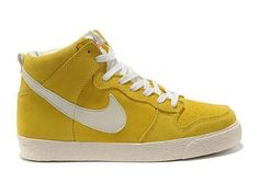 Nike Dunk High AC VNTG Varsity Maize Sail,Style code:398263-700,Colors: Varsity-Maize/White/Sail,Upper: Premium Suede,Sole: Vulcanized Rubber,Release: 2011