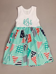 Southern Tots Lily Nautical Dress  www.facebook.com/Southerntots